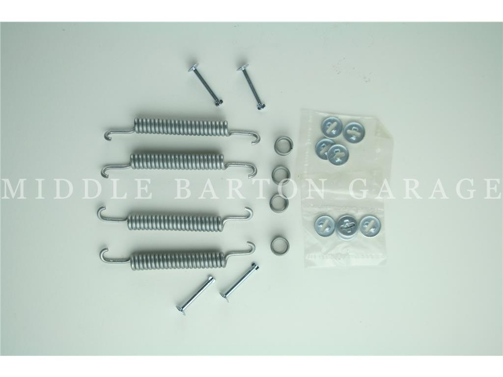 BRAKE  SHOE RETURN SPRING KIT COMPLETE 600/126/127
